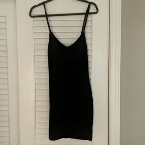 Splendid Tops - Splendid layers black long tank or mini dress S